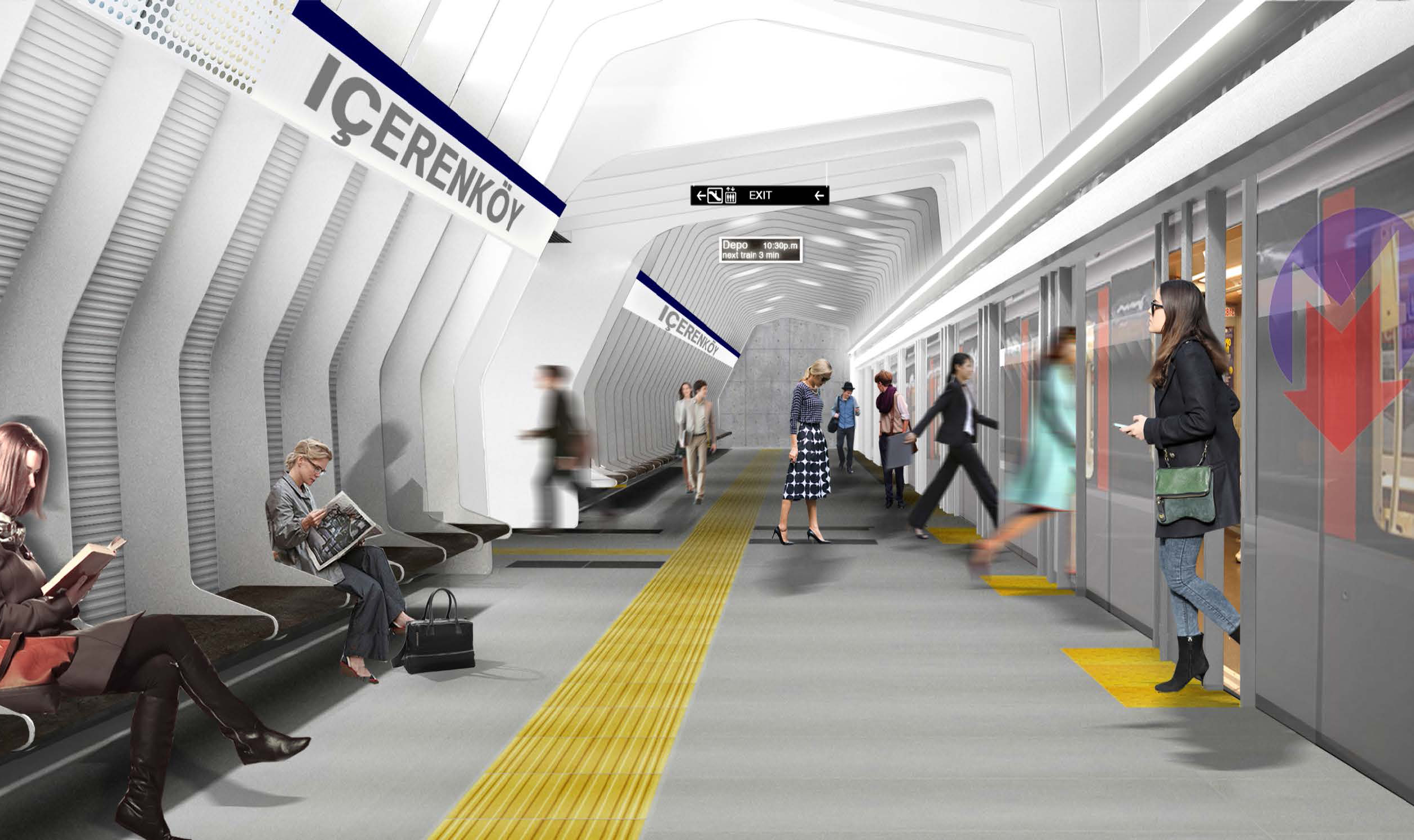 Bostancı-Dudullu Metro Hattı